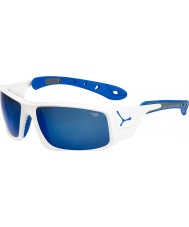 Cebe Buz 8000 parlak beyaz, mavi güneş gözlüğü