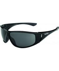 Bolle Highwood parlak siyah polarize güneş gözlüğü tns