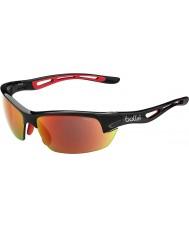 Bolle Bolt s mat siyah tns yangın güneş gözlüğü
