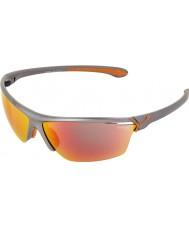 Cebe Cinetik büyük metalik gri güneş gözlüğü