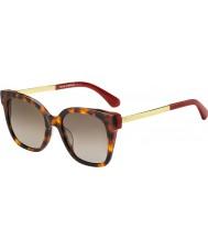 Kate Spade New York Bayanlar 65 ton ha 52 güneş gözlüğü içindeler