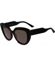 Marni Bayanlar me601s siyah ve havana güneş gözlüğü
