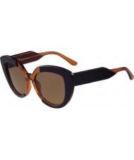 Marni Mavi bayanlar me601s ve turuncu güneş gözlüğü