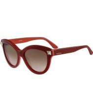 Valentino Bayanlar v695s ingilizce kırmızı güneş gözlüğü