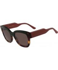 Marni Bayanlar me604s yeşil ve havana güneş gözlüğü