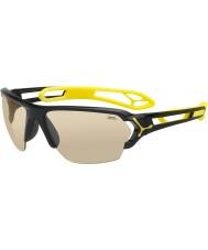 Cebe S-track büyük parlak siyah güneş gözlüğü