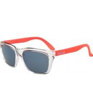 Bolle 527 Retro koleksiyonu parlak kristal turuncu gb-10 güneş gözlüğü
