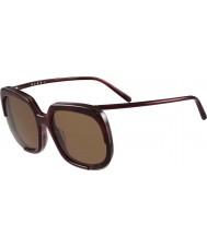 Marni Bayanlar me608s bordeaux ve havana güneş gözlüğü