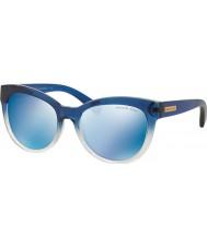 Michael Kors Mk6035 mavi i 53 mitzi 312.255 mavi ayna güneş gözlüğü gölgeli