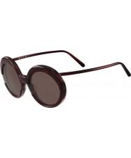 Marni Bayanlar me609s bordeaux ve havana güneş gözlüğü