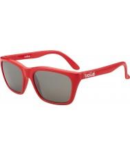 Bolle 527 Retro koleksiyonu parlak kırmızı kamuflaj tns silah güneş gözlüğü