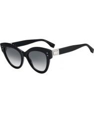 Fendi Bayanlar ff0266 s 807 9o 52 peekaboo güneş gözlüğü