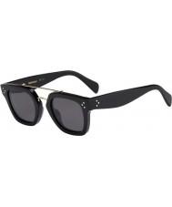 Celine Bayanlar 41077-s 807 milyar siyah güneş gözlüğü cl