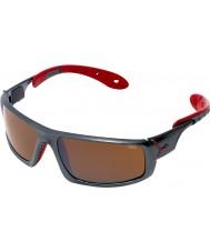 Cebe Buz 8000 koyu gri, kırmızı güneş gözlüğü
