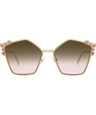 Fendi Bayanlar ff0261 s 0 53 57 can gözlük güneş gözlüğü