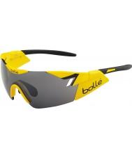 Bolle 6 anlamda parlak sarı siyah tns silah güneş gözlüğü