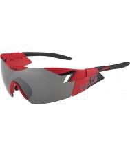Bolle 6 duygusu mat kırmızı siyah tns silah güneş gözlüğü