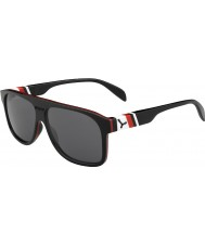 Cebe Chicago siyah kırmızı 1500 gri flaş ayna güneş gözlüğü