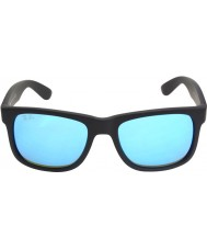 RayBan Rb4165 justin siyah - mavi ayna