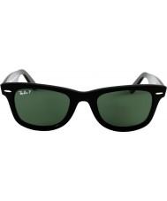 RayBan Rb2140 orijinal wayfarer siyah - yeşil polarize