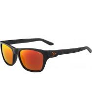 Cebe Hacker mat gri 1500 gri flaş ayna turuncu güneş gözlüğü