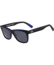 Lacoste siyah, mavi polarize güneş gözlüğü L781sp
