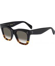Celine Bayanlar 41090-s fu5 z3 siyah bağa güneş gözlüğü cl