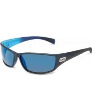 Bolle Python mat siyah, mavi polarize gb-10 güneş gözlüğü