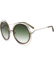 Chloe Bayanlar carlina altın haki güneş gözlüğü ce120s
