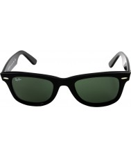 RayBan Rb2140 orijinal wayfarer siyah - yeşil