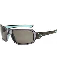 Cebe Changpa gri polarize güneş gözlüğü fırçalanmış