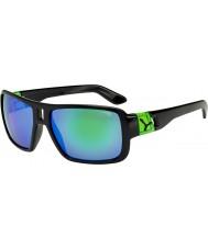 Cebe Lam parlak siyah yeşil güneş gözlüğü