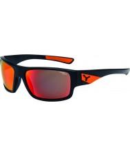 Cebe Fısıltı mat siyah turuncu güneş gözlüğü