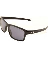 Oakley Oo9262-01 şerit mat siyah - gri güneş gözlüğü