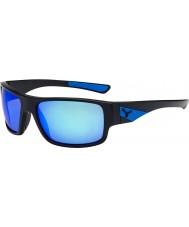Cebe Fısıltı mat siyah, mavi güneş gözlüğü