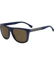 HUGO BOSS Erkek patron 0834-s hwq sp mavi polarize güneş gözlüğü