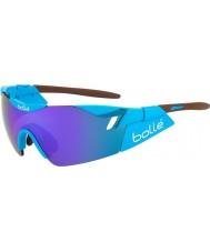 Bolle parlak kahverengi mavi-mor güneş gözlüğü ag2r 6 duygusu