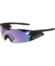 Bolle 6 duyu s mat siyah mavi-mor güneş gözlüğü