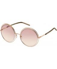 Marc Jacobs Bayanlar 11-ler txa 05 altın kahverengi güneş gözlüğü marc
