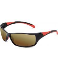 Bolle Hız parlak siyah, kırmızı bolle 100 tabanca güneş gözlüğü