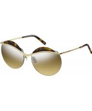 Marc Jacobs Bayanlar 102-s j5g gg altın gümüş ayna güneş gözlüğü marc