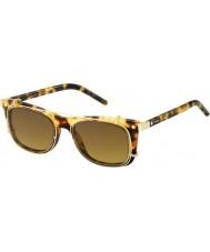Marc Jacobs Marc 17-ler u63 vo havana altın güneş gözlüğü