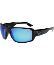Cebe Maori parlak mavi siyah güneş gözlüğü