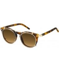 Marc Jacobs Marc 18-s u6j zx havana altın güneş gözlüğü
