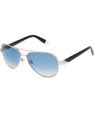 Furla Bayanlar yeşim su4339s-300 parlak altın gümüş güneş gözlüğü aynalı gül