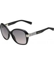 Jimmy Choo Bayan Alana-s D28 ab parlak siyah güneş gözlüğü