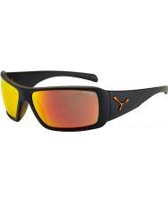 Cebe Utopy mat siyah turuncu güneş gözlüğü