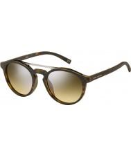 Marc Jacobs Marc 107-s n9p gg mat havana gümüş ayna güneş gözlüğü