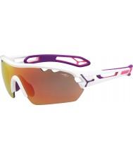 Cebe net yedek lens ile S-track mono orta parlak beyaz, pembe 1500 gri ayna pembe güneş gözlüğü