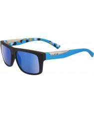 Bolle Clint mat siyah, mavi polarize gb-10 güneş gözlüğü